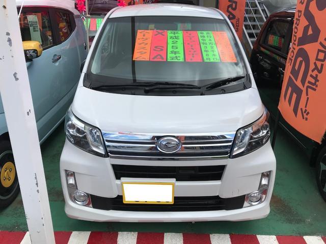 沖縄の中古車 ダイハツ ムーヴ 車両価格 75万円 リ済別 2013(平成25)年 4.2万km パールホワイトIII