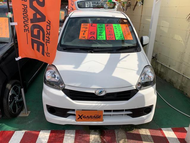 沖縄県の中古車ならミライース L SA レーダーブレーキサポート アイドリングストップ