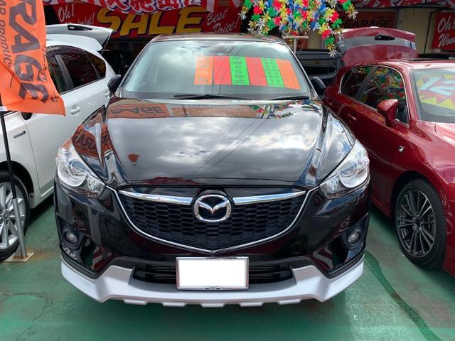 沖縄の中古車 マツダ CX-5 車両価格 125万円 リ済別 2013(平成25)年 8.9万km ジェットブラックマイカ