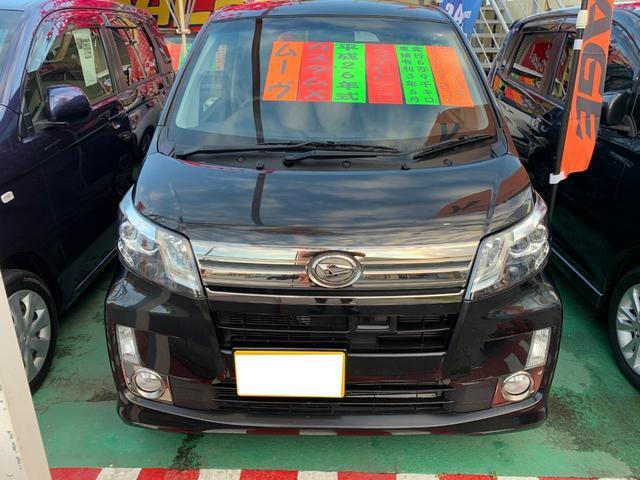 沖縄県の中古車ならムーヴ カスタム X VSスマートセレクションSA&SN 純正ナビ