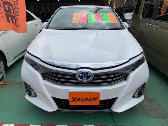 沖縄県の中古車ならSAI G メーカーナビ ブルーレイ 純正アルミホイール