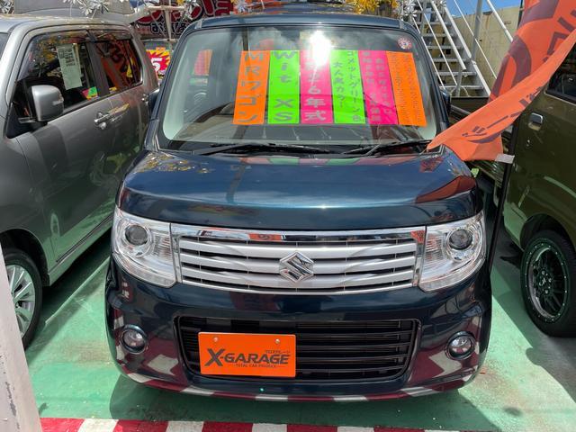 沖縄の中古車 スズキ MRワゴンWit 車両価格 79万円 リ済別 2014(平成26)年 5.7万km グリーン