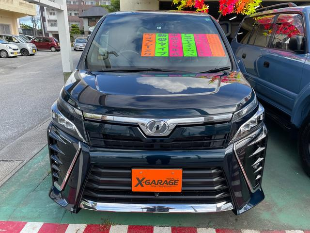 沖縄県うるま市の中古車ならヴォクシー ZS トヨタセーフティセンス プリクラッシュセーフティ レーンディバーチャーアラート