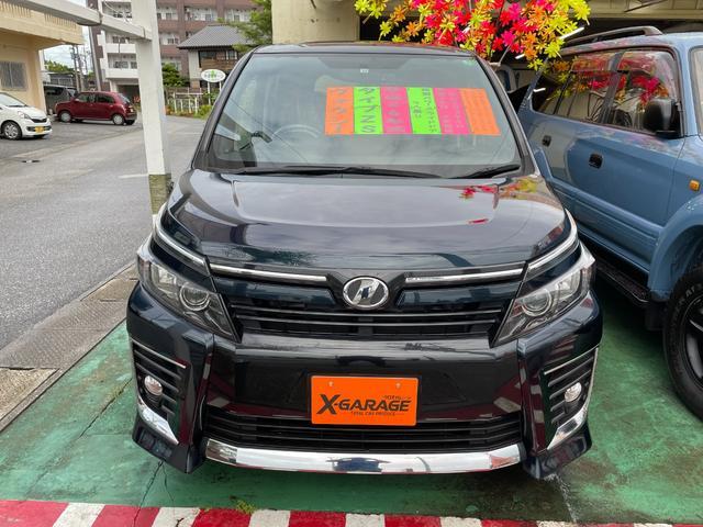 沖縄県の中古車ならヴォクシー ZS 純正9型ナビ フルセグTV DVD 純正11型フリップダウンモニター