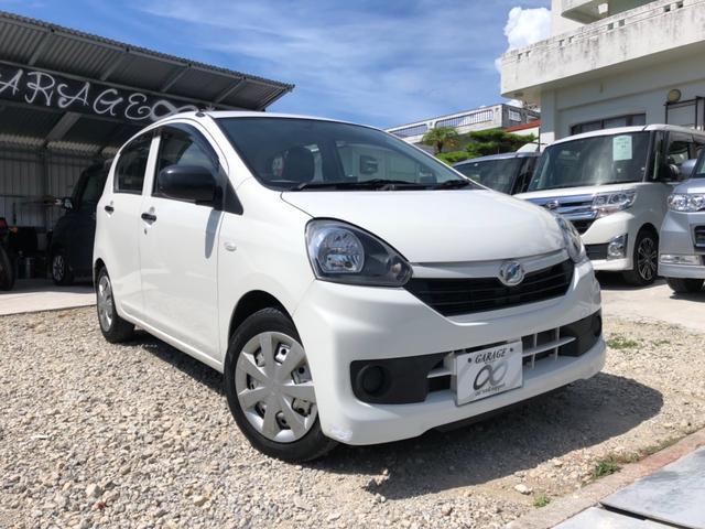 沖縄の中古車 ダイハツ ミライース 車両価格 36万円 リ済込 2014(平成26)年 3.2万km ホワイト