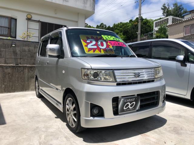 沖縄の中古車 スズキ ワゴンR 車両価格 20万円 リ済込 2007(平成19)年 12.7万km シルバーM