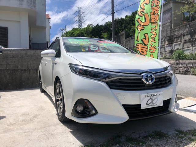 沖縄の中古車 トヨタ SAI 車両価格 195万円 リ済込 2014(平成26)年 3.1万km パールホワイト