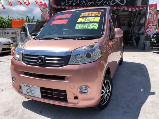 沖縄の中古車 ホンダ ライフ 車両価格 39万円 リ済込 2011(平成23)年 12.8万km ピンクII
