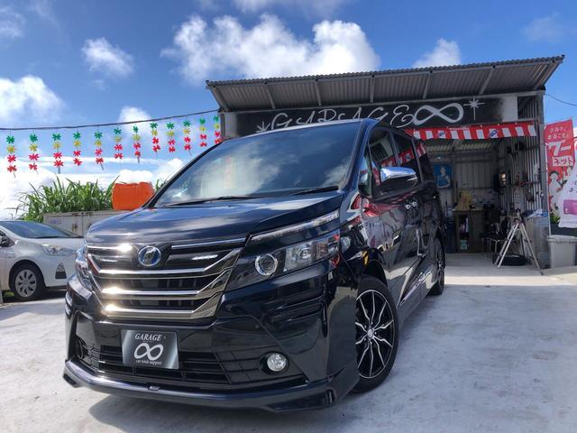 沖縄県の中古車ならヴォクシー モデリスタツアラーキット・フリップダウンモニター・両側PS