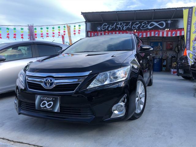 トヨタ カムリ ハイブリッド Gパッケージ・本土仕入・24ヵ月保証付き 本土仕入・24ヵ月保証付き