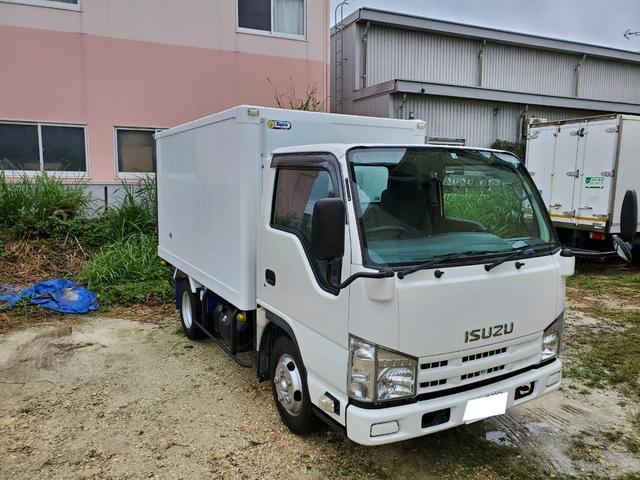 沖縄県の中古車ならエルフトラック  1.5t低温冷凍車 スタンバイ装置付き