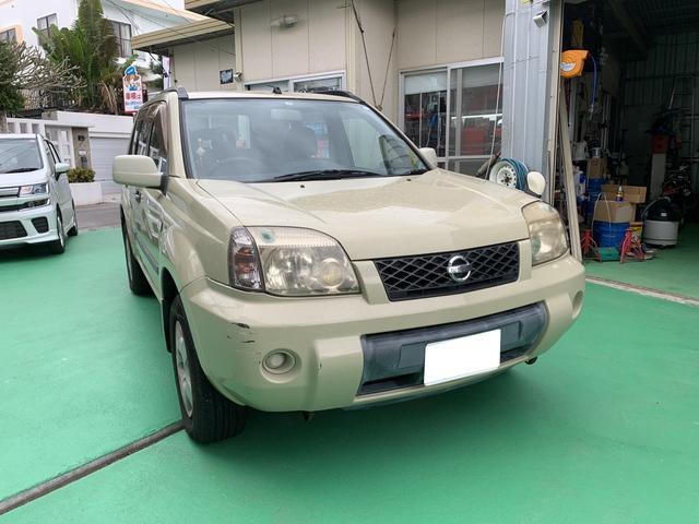 沖縄の中古車 日産 エクストレイル 車両価格 11万円 リ済込 2003(平成15)年 14.0万km 特色