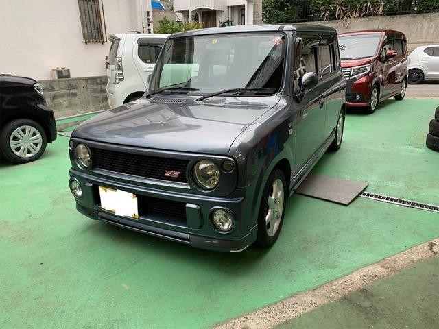沖縄の中古車 スズキ アルトラパン 車両価格 48万円 リ済込 2004(平成16)年 11.5万km ガンM