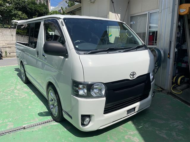 沖縄の中古車 トヨタ ハイエースバン 車両価格 126万円 リ済込 2008(平成20)年 25.9万km ホワイト