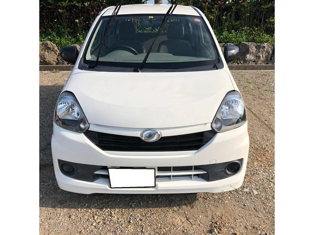 沖縄の中古車 ダイハツ ミライース 車両価格 35万円 リ済別 2015(平成27)年 3.5万km ホワイト