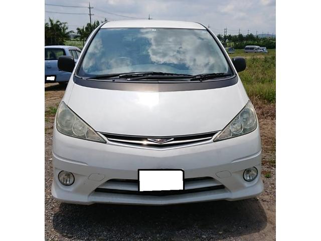 沖縄の中古車 トヨタ エスティマL 車両価格 15.4万円 リ済込 2005(平成17)年 11.0万km ホワイト