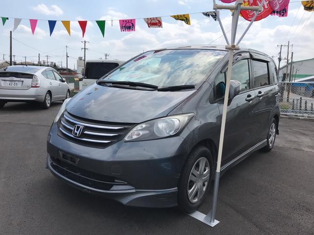沖縄の中古車 ホンダ フリード 車両価格 33万円 リ済込 平成22年 14.6万km グレー