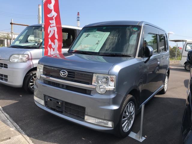 沖縄の中古車 ダイハツ ムーヴコンテ 車両価格 34万円 リ済込 平成22年 14.0万km グレー