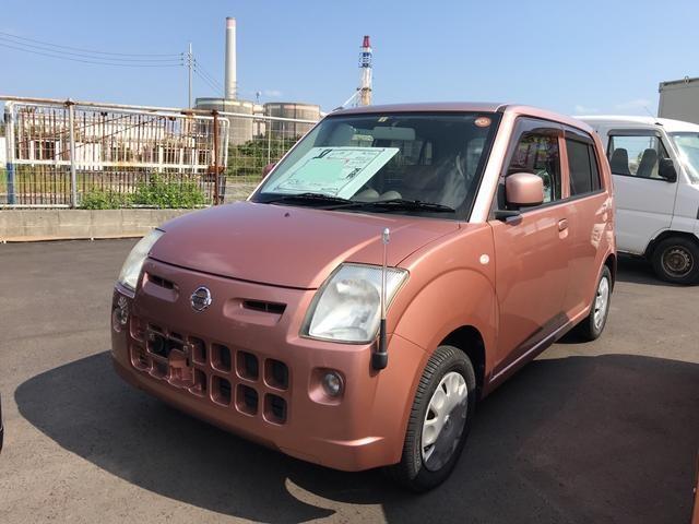 沖縄の中古車 日産 ピノ 車両価格 31万円 リ済込 平成19年 4.3万km ピンク