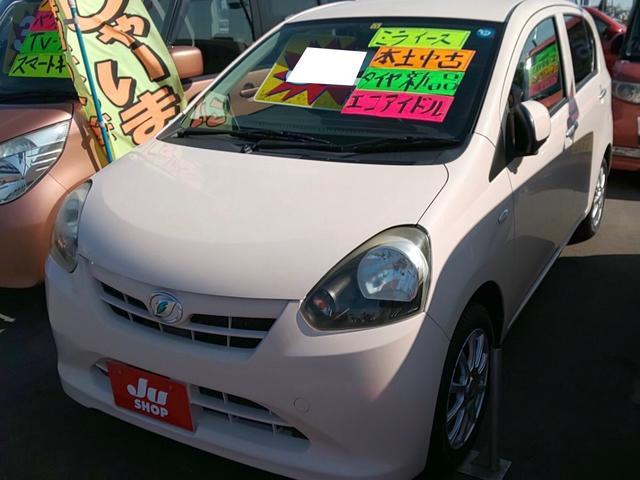 沖縄の中古車 ダイハツ ミライース 車両価格 23万円 リ済込 2011(平成23)年 10.6万km ピンク