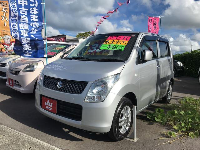 沖縄の中古車 スズキ ワゴンR 車両価格 39万円 リ済込 2012(平成24)年 9.4万km シルバー