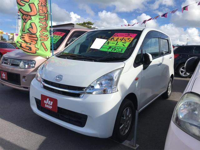 沖縄の中古車 ダイハツ ムーヴ 車両価格 32万円 リ済込 2011(平成23)年 11.0万km ホワイト