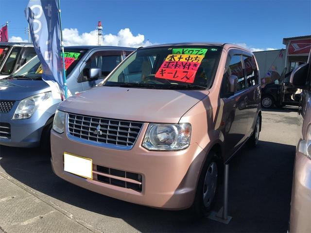 沖縄の中古車 三菱 eKワゴン 車両価格 31万円 リ済込 2011(平成23)年 5.6万km ピンク