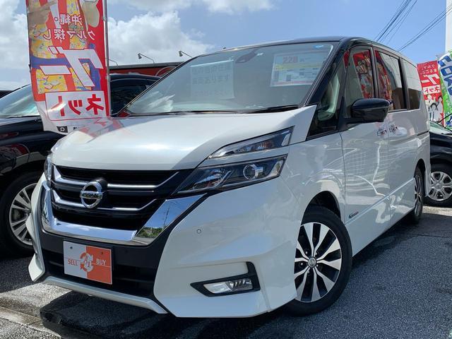 沖縄県の中古車ならセレナ ハイウェイスターG アラウンドビュー・両側パワスラ・ナビTV