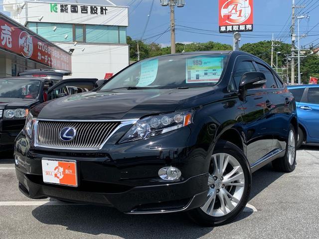 沖縄県の中古車ならRX RX450h バージョンL SR 革 ナビTV エアシート