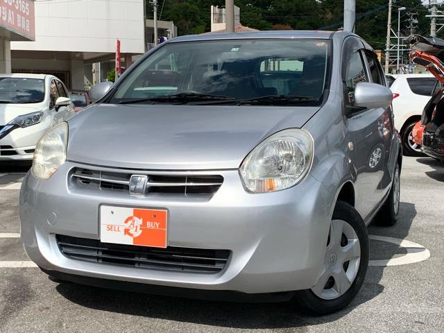 沖縄県の中古車ならパッソ G 1300cc 純正SDナビ・TV・スマートキー・ETC