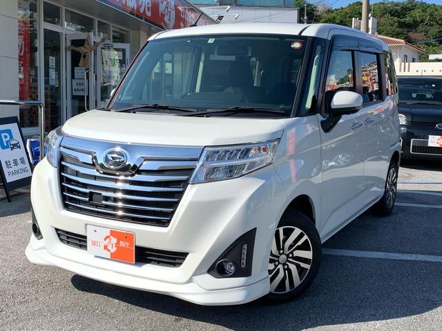 沖縄県の中古車ならトール カスタムG 9インチナビ・TV・両側パワスラ・アラウンドビュ