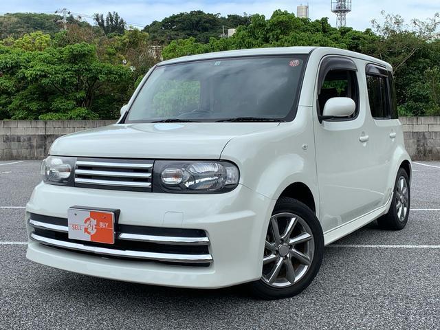 沖縄県の中古車ならキューブ ライダー ナビTV DVD ETC