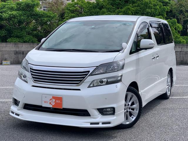 トヨタ 2.4Zプラチナムセレ ナビTV 両パワスラ フリップダウン