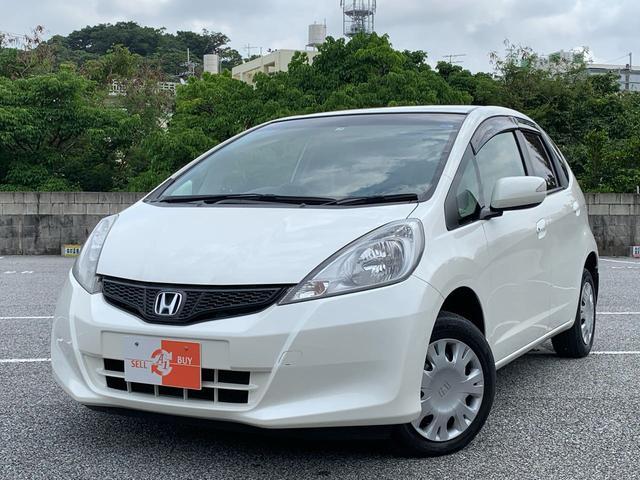 沖縄県の中古車ならフィット Gスマートセレクション CD USB 6万km
