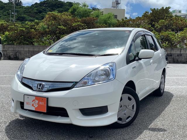 沖縄の中古車 ホンダ フィットシャトルハイブリッド 車両価格 50万円 リ済込 2013(平成25)年 8.6万km ホワイト