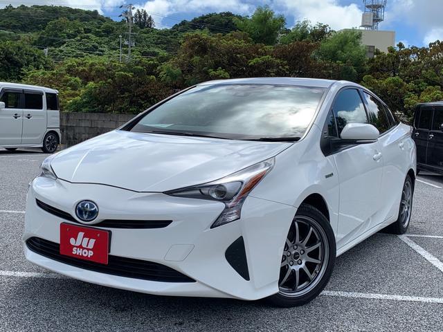 沖縄県の中古車ならプリウス S トヨタセーフティセンス ナビ ETC 社外アルミ