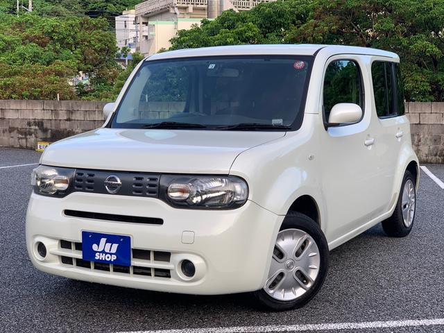 沖縄県の中古車ならキューブ 15X Mセレクション ナビ TV ブルートゥース ETC 39775km
