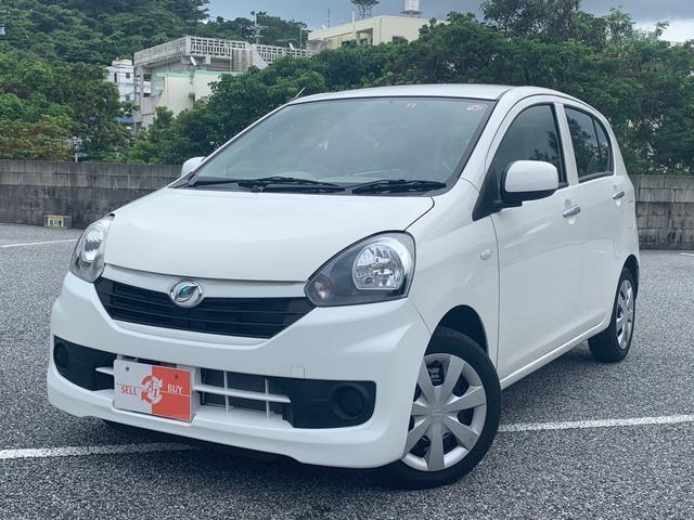 沖縄の中古車 ダイハツ ミライース 車両価格 38万円 リ済込 2015(平成27)年 7.1万km ホワイト