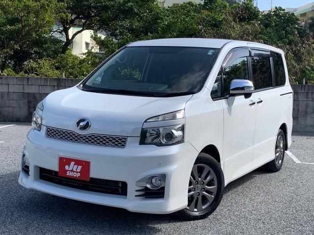 沖縄県の中古車ならヴォクシー ZS 煌 ナビ TV 両側パワースライドドア バックカメラ Bluetooth ETC