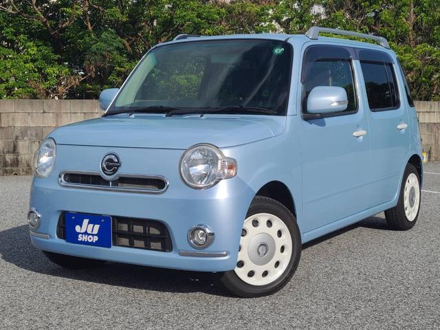 沖縄県那覇市の中古車ならミラココア ココアプラスXスペシャルコーデ 純正CD AUX オートエアコン スマートキー