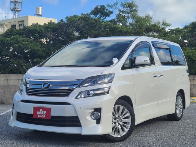 トヨタ 2.4Z ダブルサンルーフ ナビ TV バックカメラ 両側パワースライドドア ETC Bluetooth対応 革調シートカバー