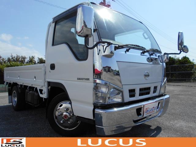 沖縄の中古車 日産 アトラストラック 車両価格 125万円 リ済別 2004(平成16)年 12.0万km ホワイト