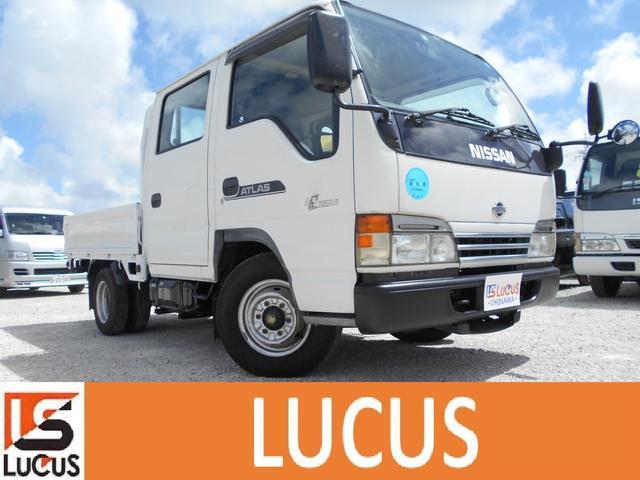沖縄県の中古車ならアトラストラック Wキャブ シャーシB 内地仕入れ 4300cc 5MT