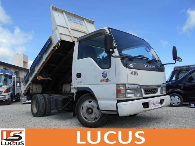 沖縄県の中古車ならエルフトラック 2tダンプ シャーシB 内地仕入れ 5MT 4800cc