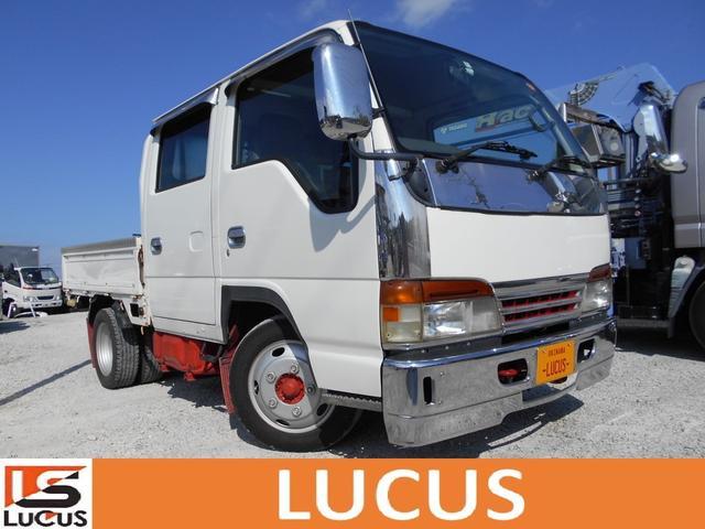 沖縄県糸満市の中古車ならエルフトラック Wキャブ シャーシB 内地仕入れ 5MT ETC