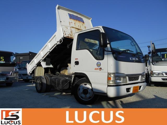 沖縄県の中古車ならエルフトラック 2tダンプ 内地中古 シャーシB 4800cc 5MT