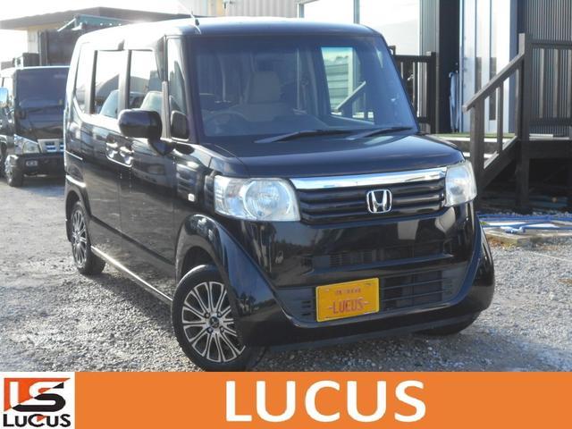 沖縄の中古車 ホンダ N-BOX 車両価格 58万円 リ済別 2012(平成24)年 9.8万km ブラック