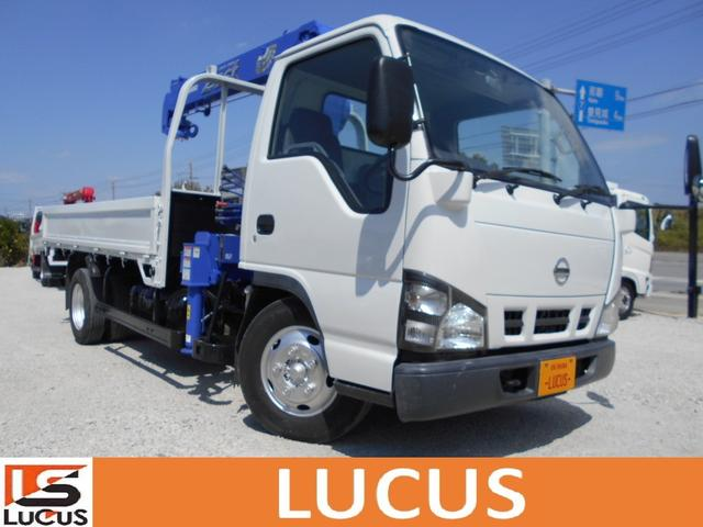 沖縄県糸満市の中古車ならアトラストラック 4段クレーン ロングDX 積載2t 5AT 4800cc
