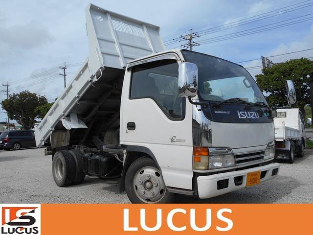 沖縄県糸満市の中古車ならエルフトラック 2t強化ダンプ 内地中古 4300cc 5MT 軽油