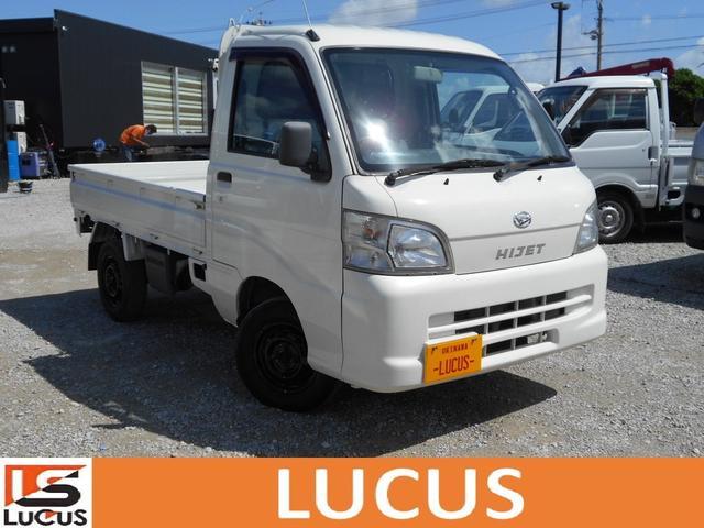 沖縄県糸満市の中古車ならハイゼットトラック 4WD エアコン パワステ MT ガソリン